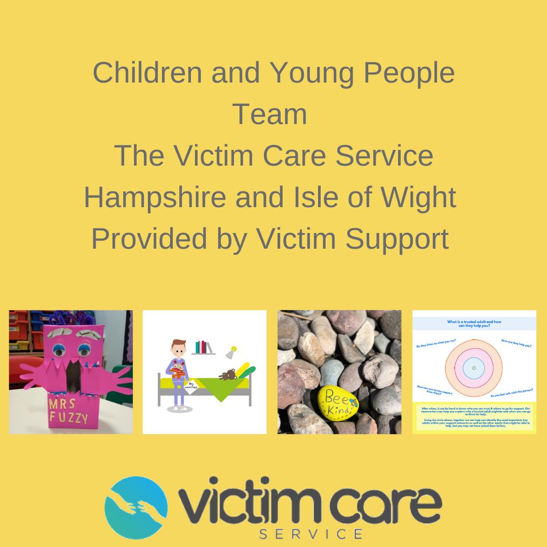 CYP Team and Victim Care Service Logo
