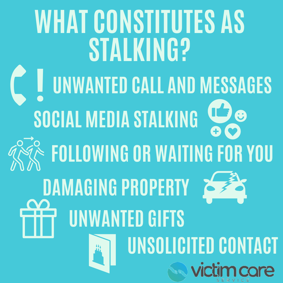A definition of stalking and the forms it can take